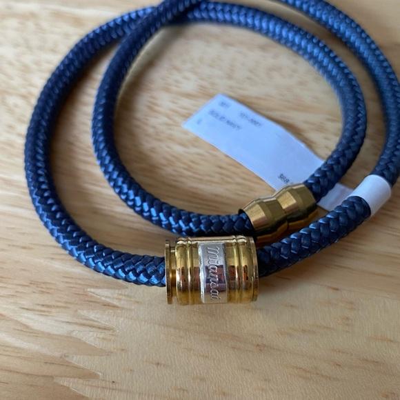 NWT Miansai Casing Brass Rope Bracelet